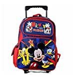 Disney Mickey Mouse & Friends Rolling Backpack