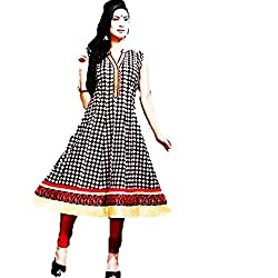 Kaya Women's Cotton Kurti (004KUCO004_Multi-Coloured_X-Large)