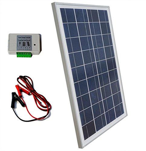 Eco Worthy 12 Volt 25 Watt Solar Kits 1pc 25w