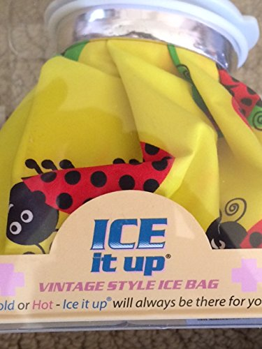 Ice Aid Vintage Style Ice Bag, Hot Tamale