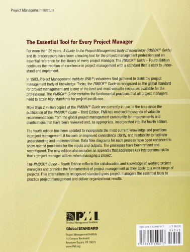 project management body of knowledge pmbok guide