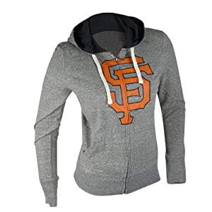 San Francisco Giants MLB Ladies Teagan Hooded Sweatshirt XL by G-III Sports