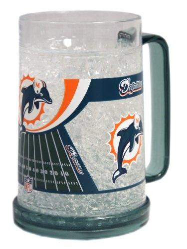 Miami Dolphins Nfl Crystal Freezer Mug