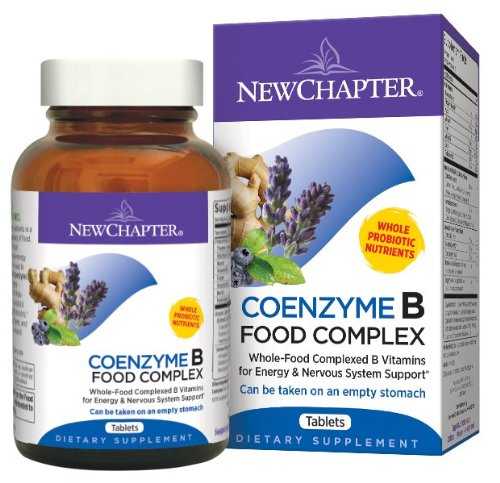New Chapter Coenzyme B Food Complex, 90 Tablets