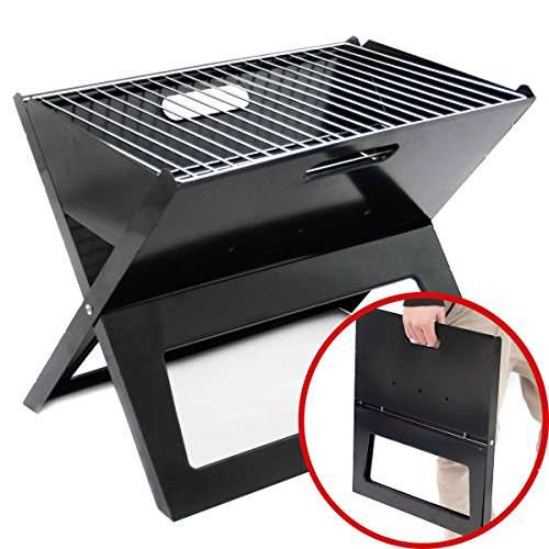 Klappgrill - Faltbarer Notebook BBQ Grill Klappbarer...