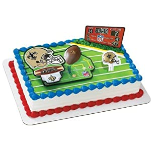 Amazon.com: New Orleans Saints Cake Decorating Kit: Kitchen & Dining