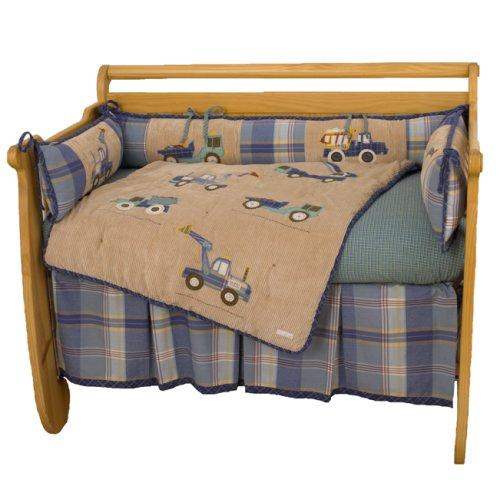 Cotton Tale Designs Big Equipment 4 Piece Crib Bedding Set