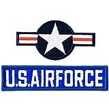 ミリタリーワッペン アメリカ国際標識+USAFタブ