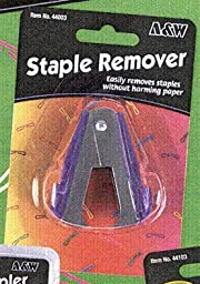 Staple Remover Assorted, 1 ea (Pack of 6)