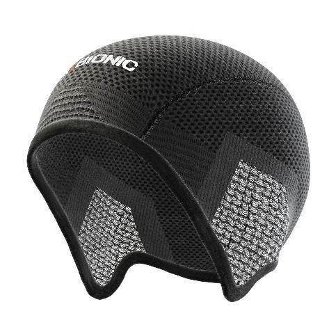 X-Bionic Unisex Ow Bondear Cap Accessorio Tecnico Multisport, Unisex adulto, Nero (Black/Anthracite), 1