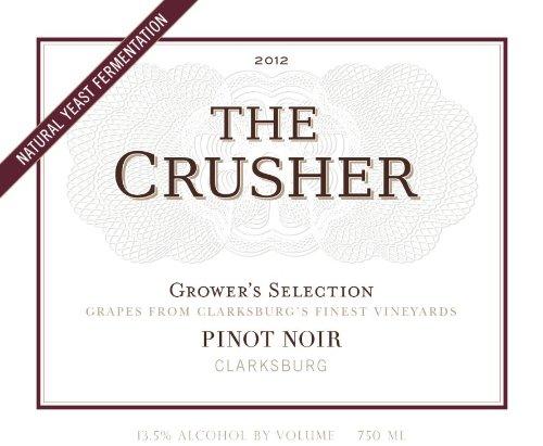 2012 The Crusher Pinot Noir, Clarksburg 750 Ml