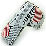 CRAFTSMANGOLF スコッティキャメロン適用 パターカバー マジックテープ開閉式 米国旗柄