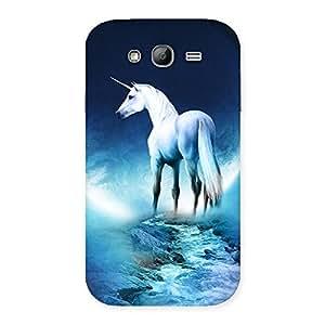 Impressive Unicorn Horse Print Back Case Cover for Galaxy Grand Neo