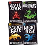 Anthony Horowitz The Power of Five Pack, 4 books, RRP £31.96 (Evil Star; Necropolis; Nightrise; Raven's Gate).