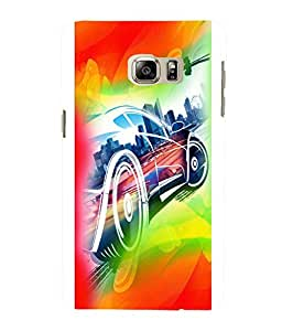 printtech Superfast car Back Case Cover for Samsung Galaxy S4::Samsung Galaxy S4 i9500
