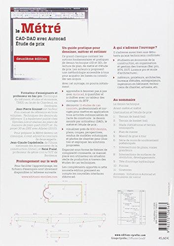 dessin technique et lecture de plan jean pierre gousset pdf