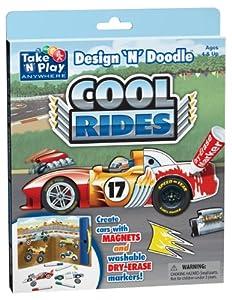 Cool Rides - Design 'N' Doodle