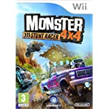 Monster 4x4 Stuntrace - with Free Wheel (Wii)  - Wii Remote Not Includedby Ubisoft