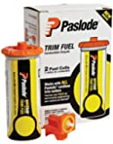 Paslode 816007 Universal Short Yellow Trim Fuel, 2-Pack