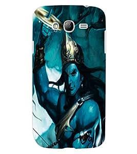 ColourCraft Lord Krishna Design Back Case Cover for SAMSUNG GALAXY GRAND I9082