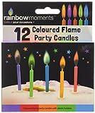 Boxer Gifts Kerzen für Geburtstagstorte mit farbiger Flamme
