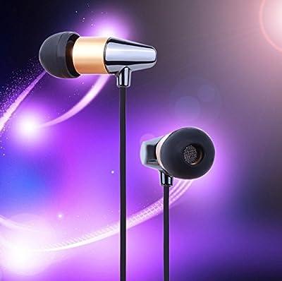 SmartSpeed® Ceramic HIFI Earphone with Microphone, Perspiration, Wear-resisting, In-Ear Headphones