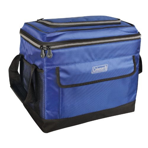Coleman C006 Soft 40 Can Collapsible Cooler, Navy