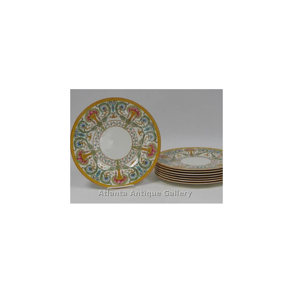 Royal Worcester Hand Painted Cabinet Plates