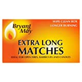 Bryant & May Extra Long Matches 12 Box