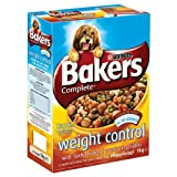 Bakers Complete Weight Control with Tasty Chicken & Country Vegetables 1kg (Pack of 4 x 1kg)