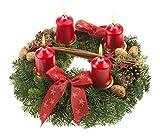Echter Adventskranz Weihnachtsglanz
