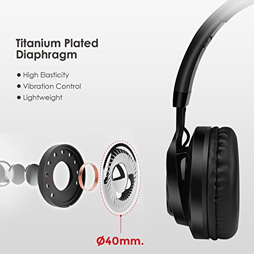 Picun Bluetooth Wireless Headphones Bt Series Stereo Foldable