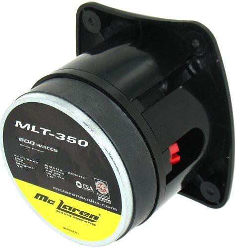 Mclaren Audio Mlt350 Bullet 600-Watts Super Tweeter
