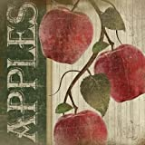Red Apples by Pugh, Jennifer - fine Art Print on PAPER : 25 x 25 Inches