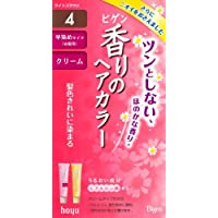 ビゲン 香りのヘアカラークリーム 4 (ライトブラウン)