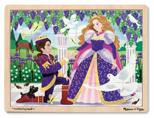 Melissa & Doug Princess Jigsaw Puzzle (24-Piece)