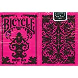 Bicycle Nautic Back Playing Cards - Pink Deck