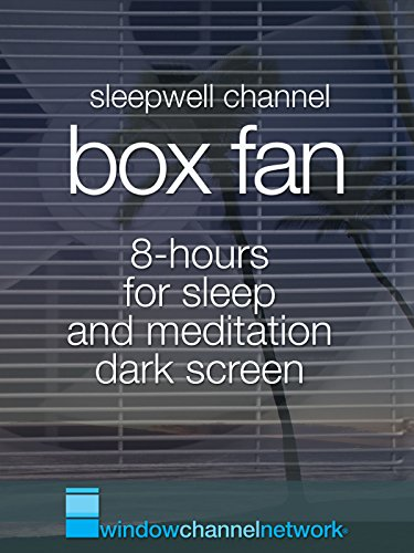 Box Fan for Sleep and Deep Relaxation