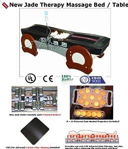 Amazon Com Massage Table Far Infrared Jade Heat Therapy