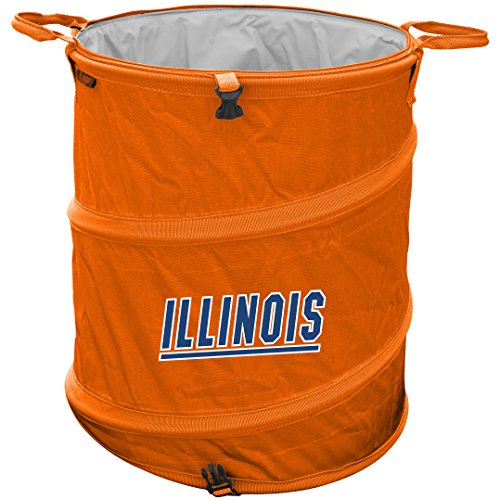Illinois Fighting Illini Trash Can Coolerk (Beer Trash Can compare prices)