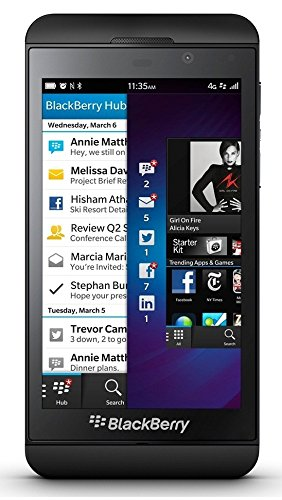 Research In Motion Blackberry Z10 Unlocked Quad-Band Gsm Smartphone - Black