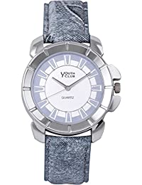 YOUTH CLUB EYE CATCHING ANALOG GREY DIAL MEN'S WATCH-YCS-80GREY