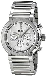 Hugo Boss Chronograph Silver Dial Mens Watch HB1512251