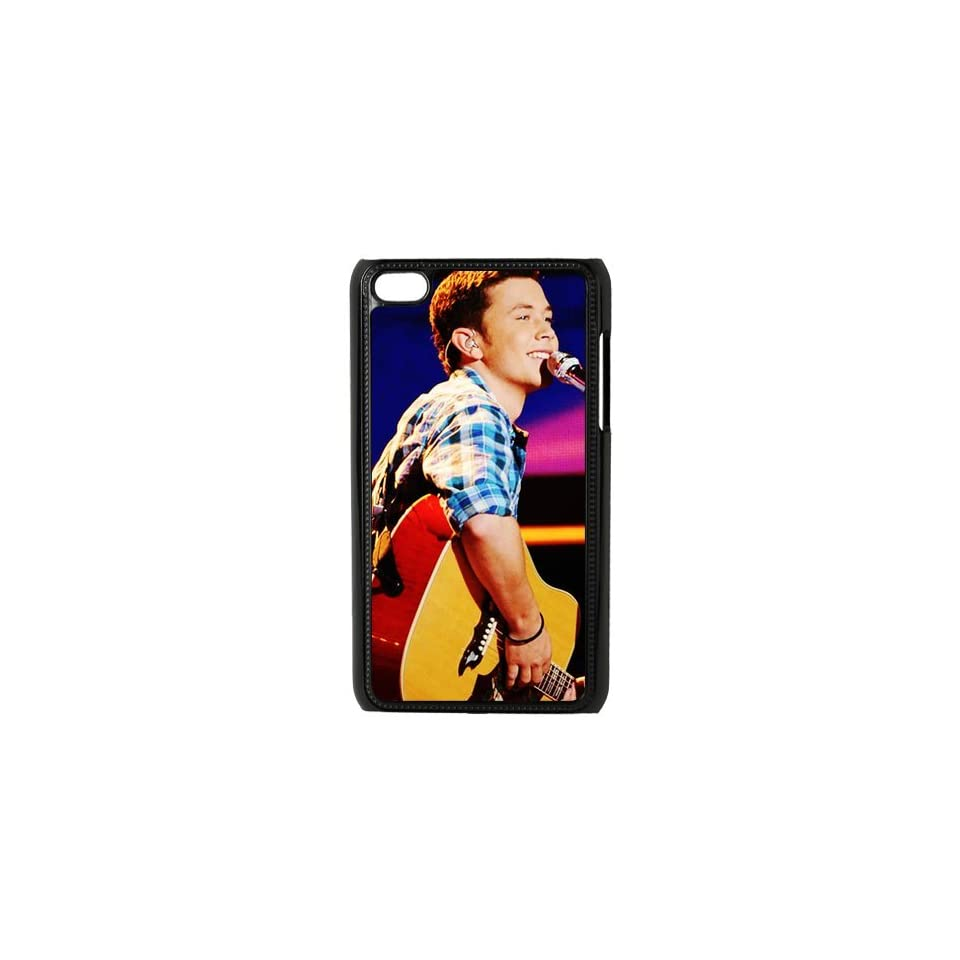 ¡¶Clear as Day¡·American Idol Winner Scotty McCreery Custome Hard Plastic Phone Case for iPod Touch 4,4G,4th Generation Black&White Colour to Choose for both sides and inside of the case Cell Phones & Accessories