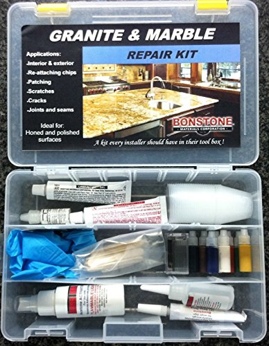 Bonstone Granite and Marble Repair Kit for Repair and Restoration of Granite and Marble
