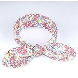 Banda ancha para niño, diseño de flores, color rosa