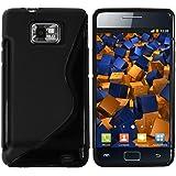 mumbi TPU Schutzhülle Samsung Galaxy S II Plus Hülle schwarz