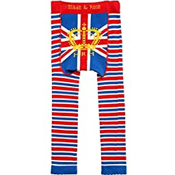 Blade and Rose Royal Baby Leggings. Union Jack Design.blue (6-12 months)