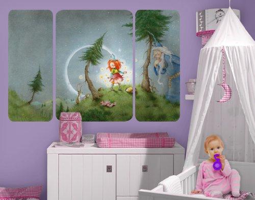 wandbild frida l sst die sterne frei triptychon ii arena. Black Bedroom Furniture Sets. Home Design Ideas