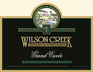 NV Wilson Creek Grand Cuvee Sparkling 750mL